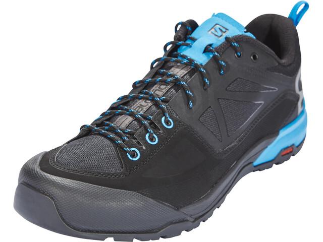 Salomon X Alp SPRY Shoes Herren black/magnet/hawaiian surf